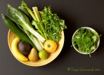 Super Green Smoothie Veggies