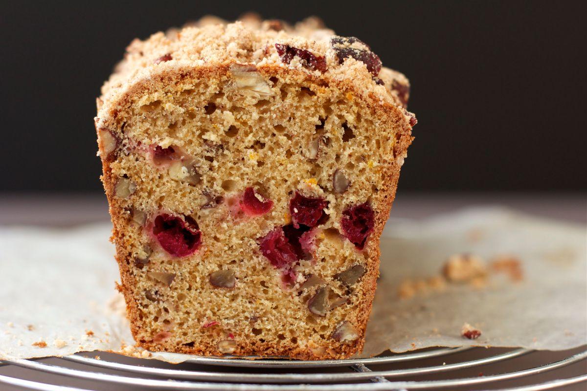 Gâteau aux airelles