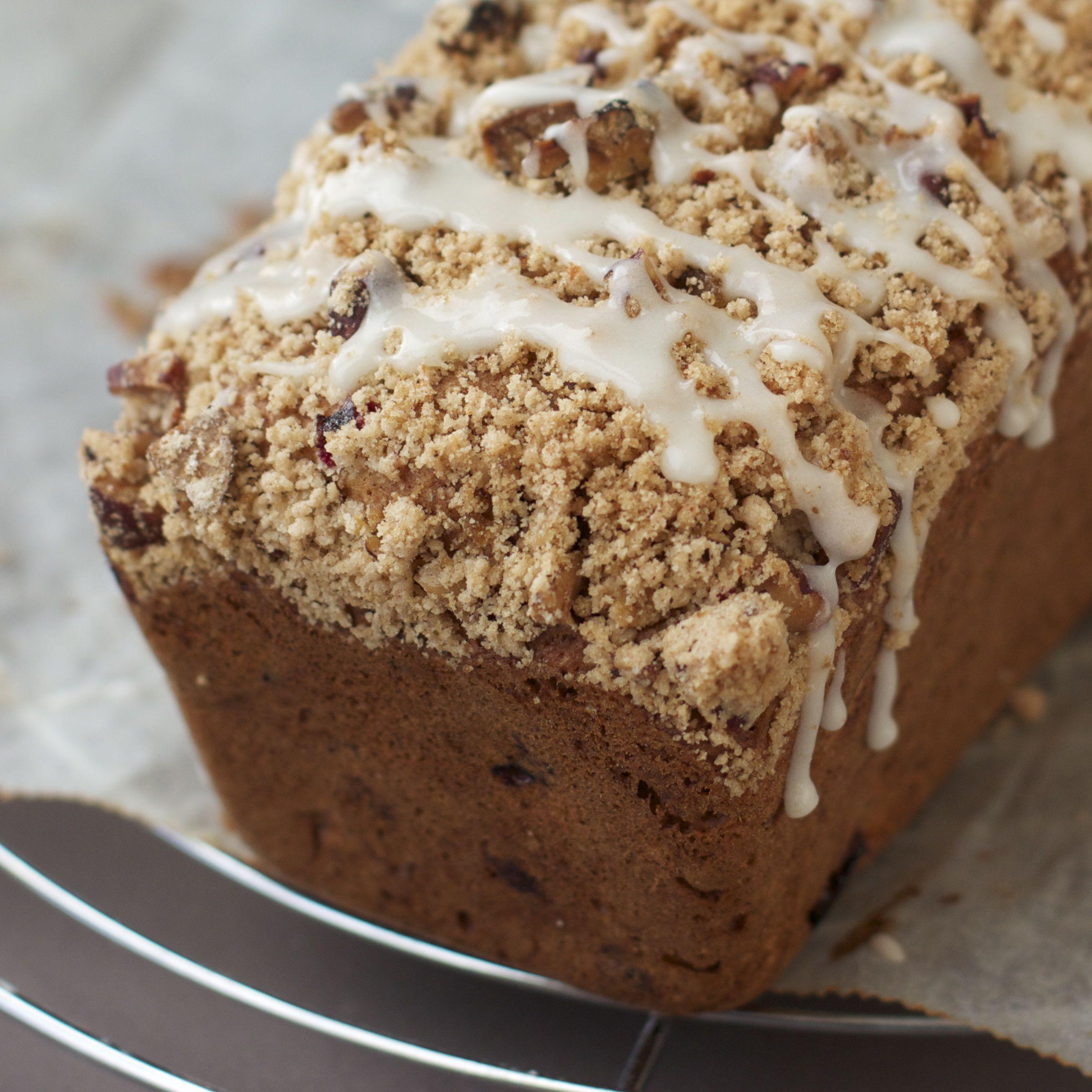 Cranberry Crumb Coffeecake Recipe — Dishmaps