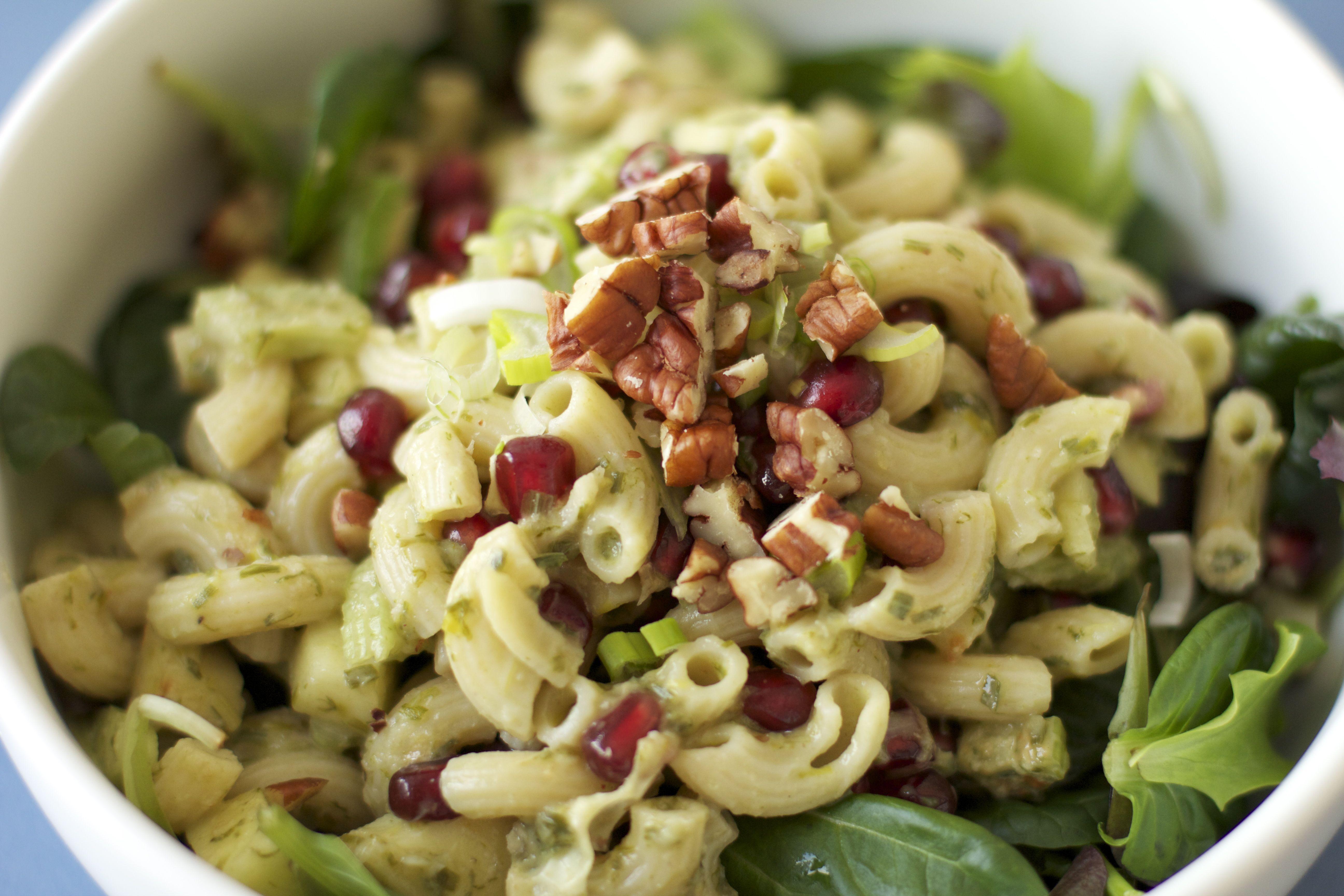 salade de p 226 te revisit 233 e original macaroni salad vegan veggie gourmande